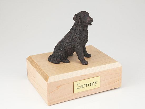 Labrador Long Haired Bronze Dog Figurine Pet Cremation Urn Ever My Pet
