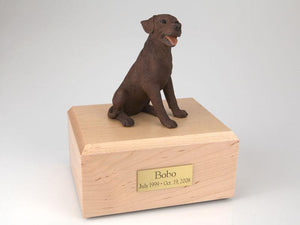 Labrador Sitting Chocolate Figurine Dog Urn Ever My Pet