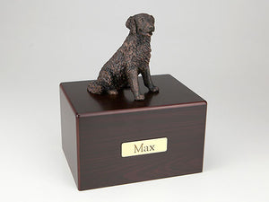 Labrador Long-Haired Economy Bronze Series Dog Pet Urn