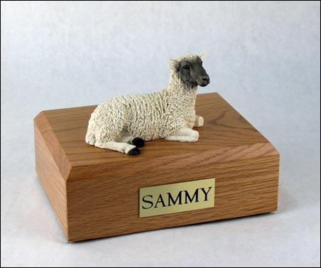 Lamb Pet Figurine Urn Ever My Pet