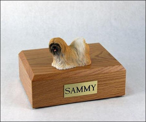 Lhasa Apso Red Dog Figurine Urn Ever My Pet