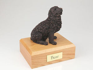 Newfoundland Bronze Dog Figurine Pet Cremation Urn Ever My Pet