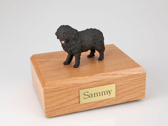 Newfoundland Black Dog Figurine Urn Ever My Pet