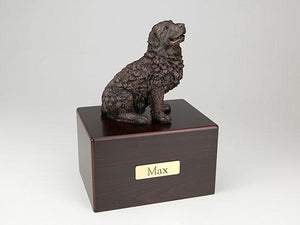 Newfoundland Economy Bronze Series Dog Pet Urn