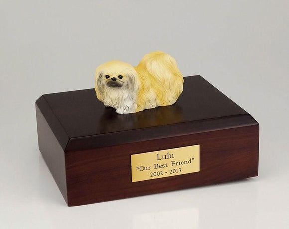 Pekingese Dog Figurine Cremation Urn Ever My Pet