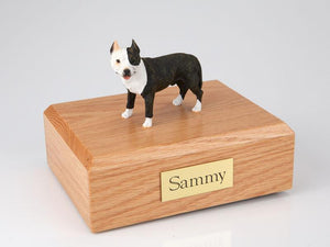 Pit Bull Terrier Brindle Dog Figurine Urn Ever My Pet
