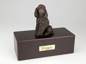 Standard Poodle Economy Bronze Series Dog Pet Urn
