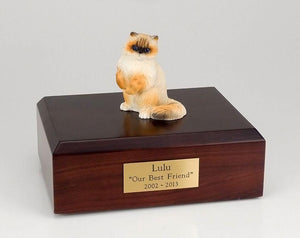Cat Ragdoll Sitting Up Figurine Cat Urn Ever My Pet