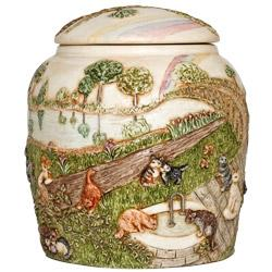 Rainbow Bridge Cat Pet Urn JALRCA15