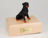 Rottweiler Sitting Dog Figurine Urn Ever My Pet