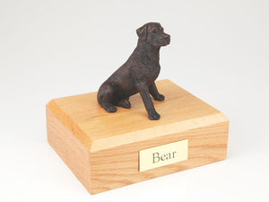 Rottweiler Bronze Dog Figurine Pet Cremation Urn Ever My Pet