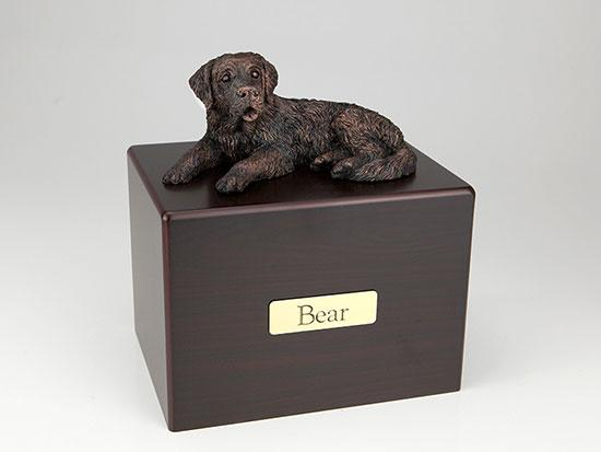 Saint Bernard Economy Bronze Series Dog Pet Urn