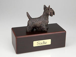 Scottish Terrier Economy Bronze Series Dog Pet Urn