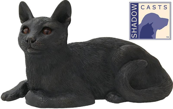Ever My Shadow Bronze Short Haired Cat Urn