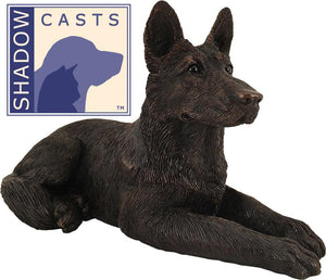 Ever My Shadow Bronze German Shepherd Dog Urn