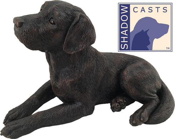 Ever My Shadow Bronze Labrador Retriever Dog Urn