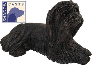 Ever My Shadow Bronze Maltese Dog Urn