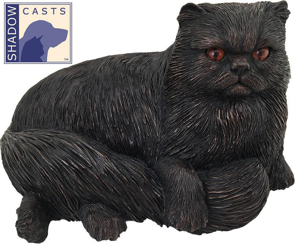 Ever My Shadow Bronze Persian Cat Urn