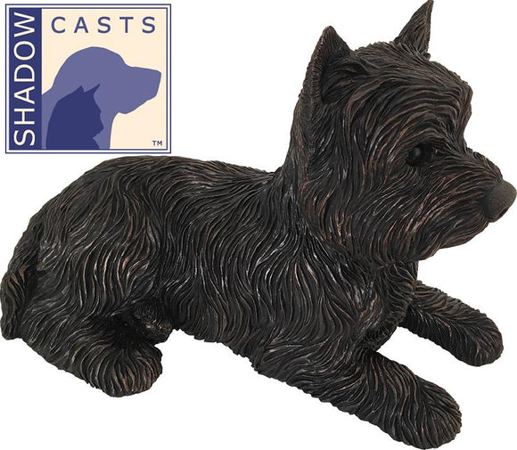 Ever My Shadow Bronze West Highland Terrier Dog Urn