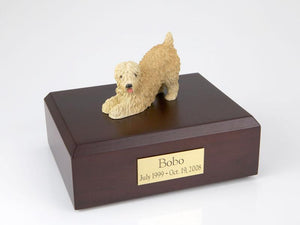 Soft Coated Wheaten Playing Dog Figurine Urn Ever My Pet