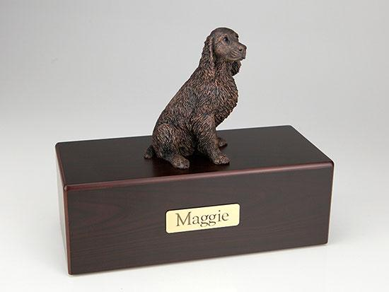 Springer Spaniel Economy Bronze Series Dog Pet Urn