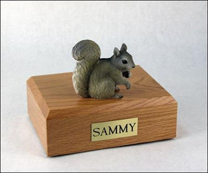 Squirrel Gray Pet Figurine Urn Ever My Pet