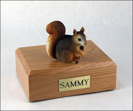 Squirrel Red Pet Figurine Urn Ever My Pet