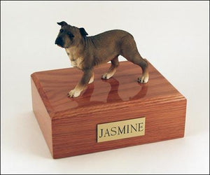 Staffordshire Terrier Standing Figurine Dog Urn Ever My Pet