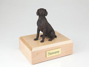 Weimaraner Bronze Dog Figurine Pet Cremation Urn Ever My Pet