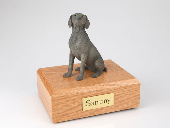 Weimaraner Gray Dog Figurine Urn Ever My Pet
