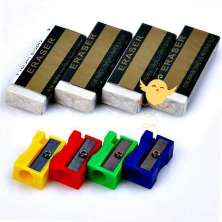 Sharpener & Erasers