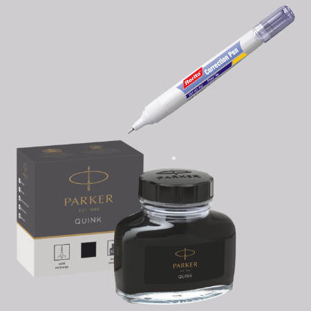 Ink & Correction Pens