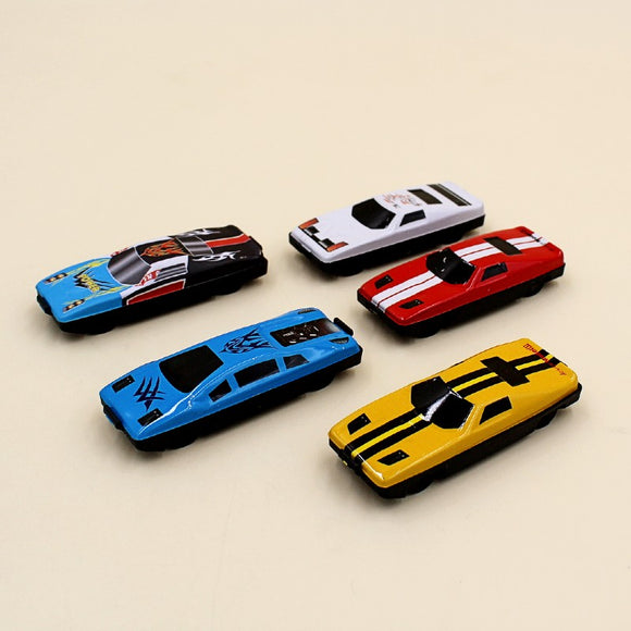 Alloy Sports Racing Cars Iron Sheet Plastic Model (5 Pack)