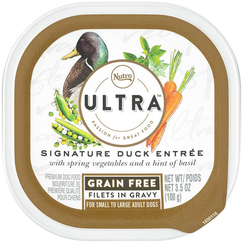 Nutro Ultra Grain Free Signature Duck Entree Filets in Gravy Wet Dog Food