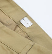 Girls Straight Leg Pants (Slim Fit) - Khaki