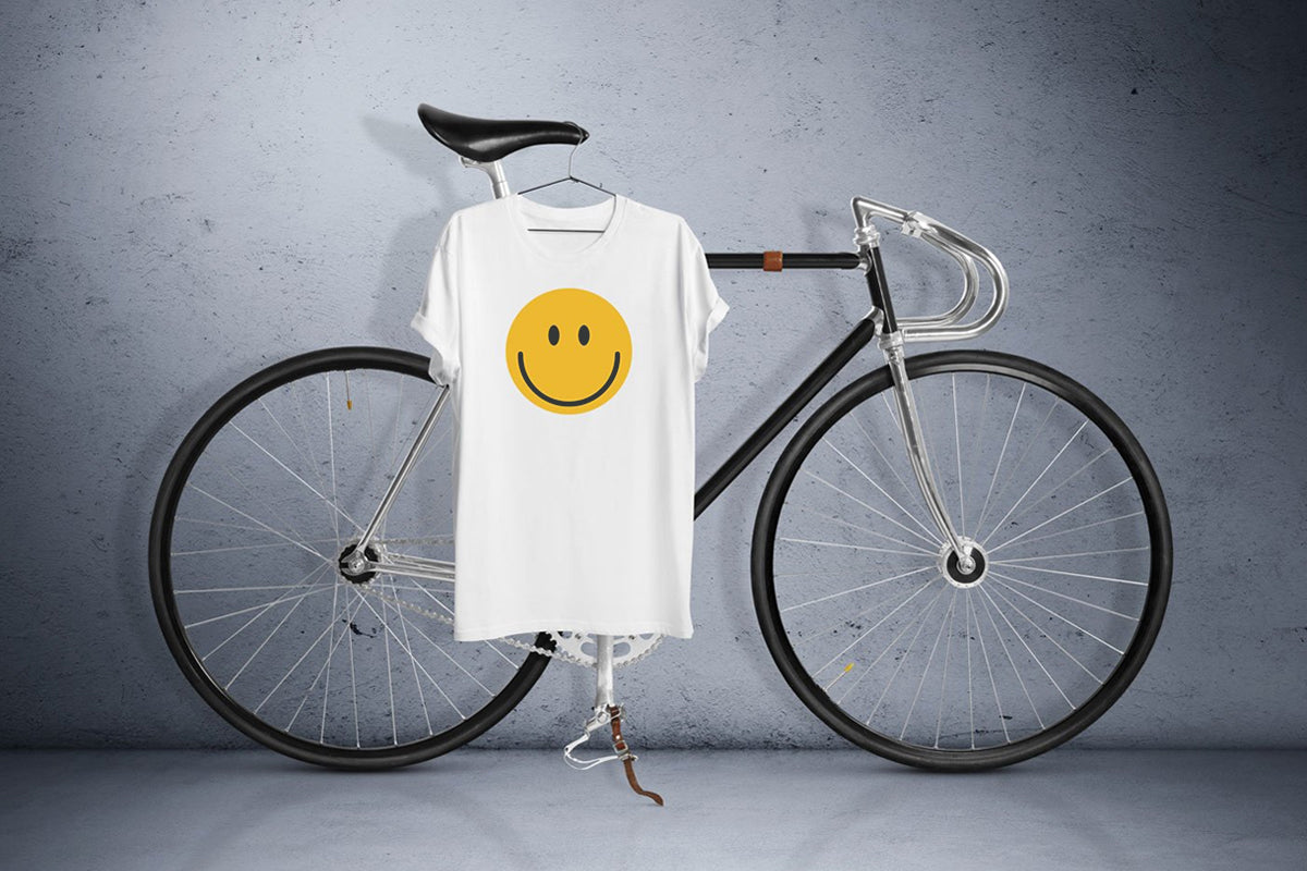 White Laughing Emoji T-Shirt