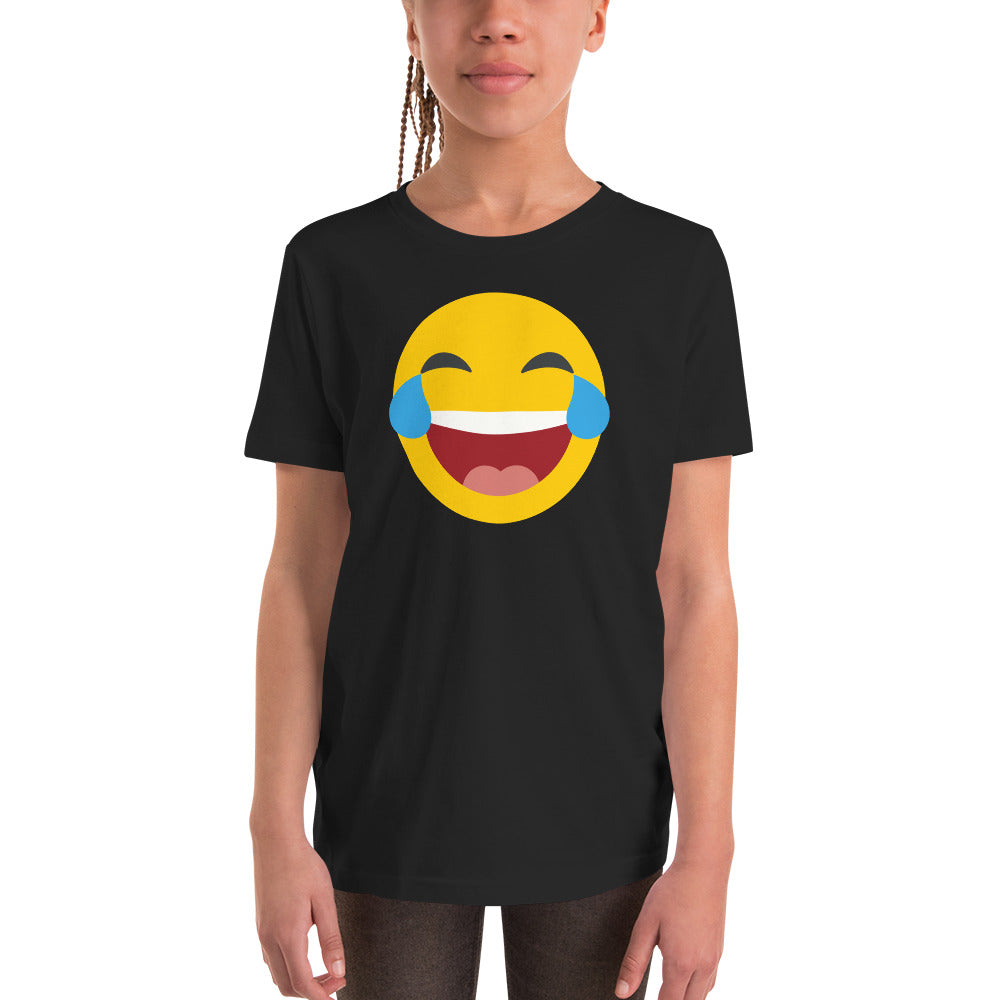 Girls tears of joy emoji tee