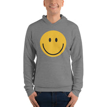 Load image into Gallery viewer, Men's smiley face emoji fleece hoodie