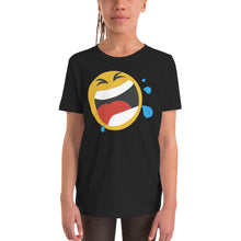Load image into Gallery viewer, Girl's screaming emoji t-shirt