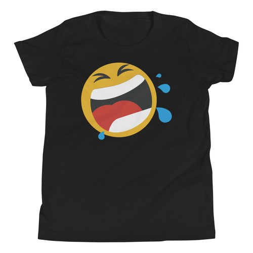 Boy's screaming emoji t-shirt