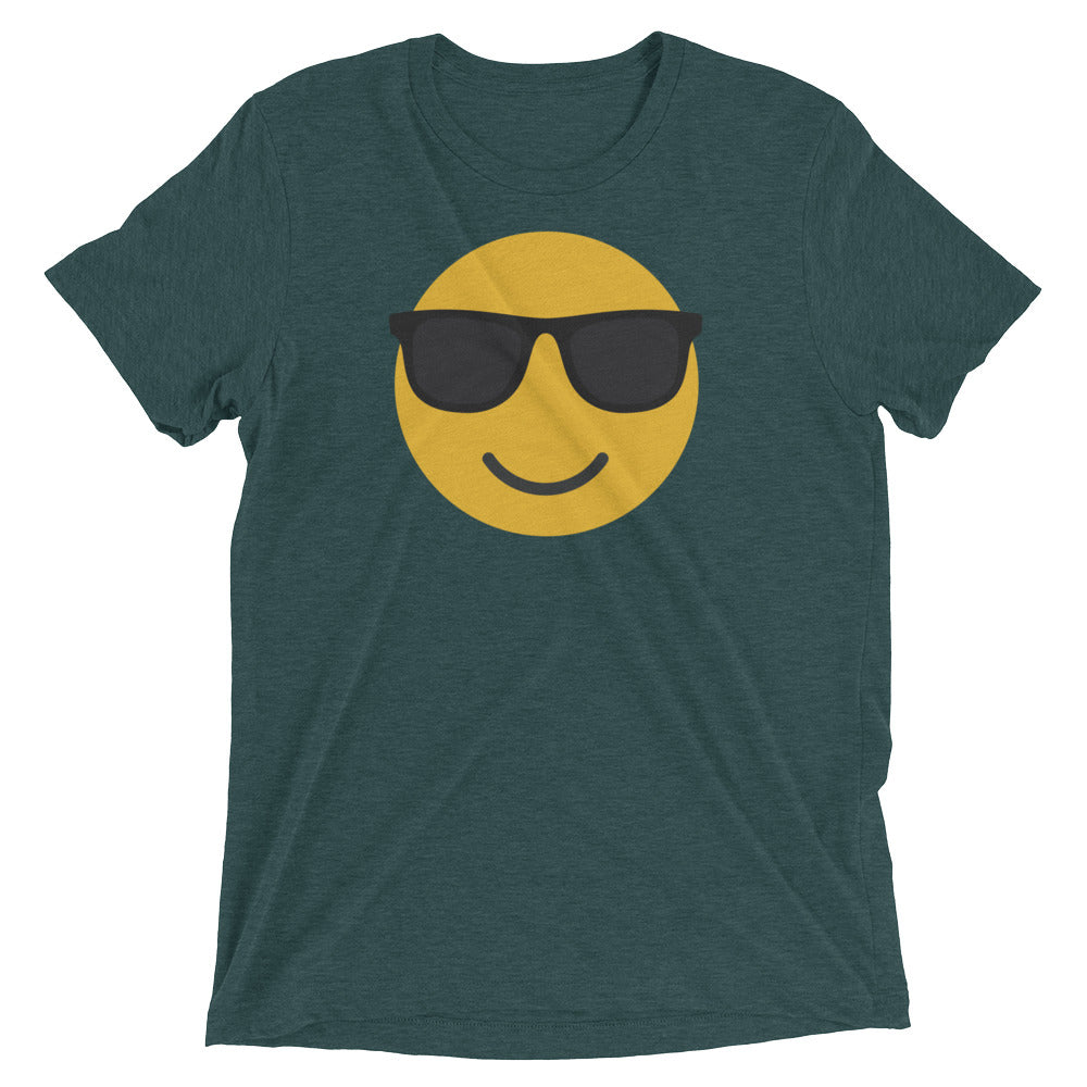 Men's sunglasses emoji t-shirt