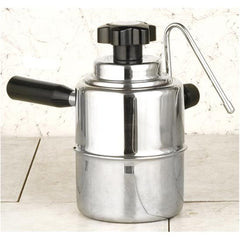 Bellman Stainless Steel Stove-Top Milk Steamer Frother for Cappuccino 50SS