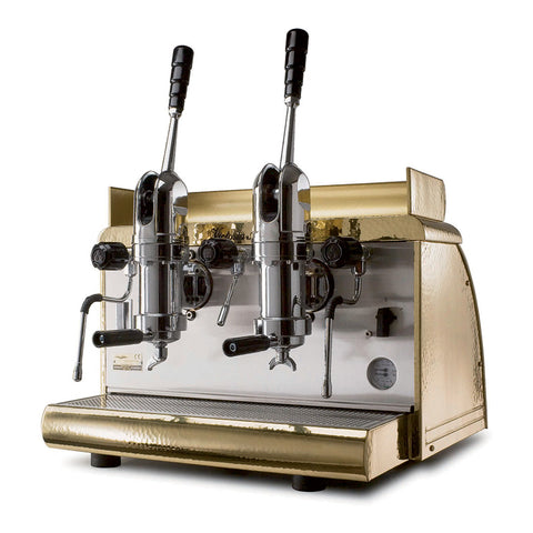Victoria Arduino Athena Classic 2 or 3 Leva Commercial Espresso Machine Copper/Chrome