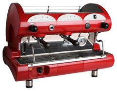 La Pavoni 2 Group Black or Red Commercial Volumetric Espresso Machine (BAR STAR 2V)