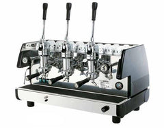 La Pavoni 3 Group Lever Commercial Espresso Cappuccino Machine (BAR-T 3L)