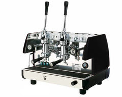 La Pavoni 2 Group Black or Red Espresso Cappuccino Machine (BAR-T 2L)