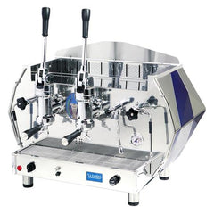 La Pavoni 2 Group Lever Commercial Espresso Cappuccino Machine Red or Blue (DIA 2L)