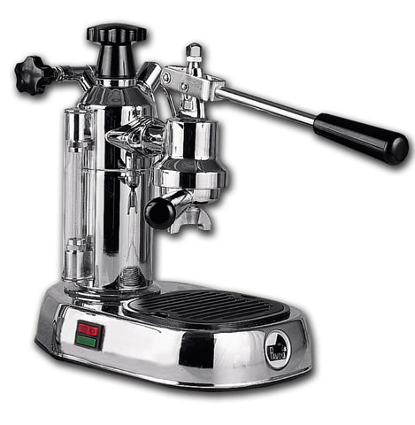 La Pavoni Europiccola Home Espresso Cappuccino Machine Chrome (EPC-8)