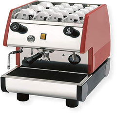 La Pavoni PUB 1 Black or Red Commercial Espresso Machine PUB (1M-B/PUB 1M-R)
