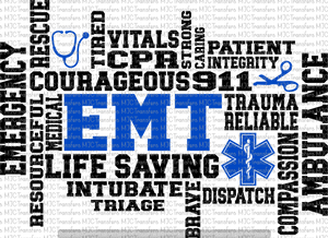 EMT WORDS (SUBLIMATION)